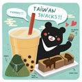 Taiwan famous snacks