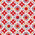 Taiwan flag abstract Japan red sun seamless pattern Royalty Free Stock Photo