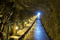 Taiwan matsu sightseeing attractions anton tunnel Stock Photography