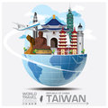 Taiwan Republic Of China Landmark Global Travel And Journey Info Royalty Free Stock Photo