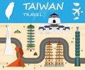 Taiwan travel background Landmark Global Travel And Journey Info