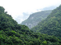 Taiwan tropical mountainscape in taroko national park in Royalty Free Stock Image