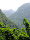 Taiwan tropical mountainscape in taroko national park in Stock Photo