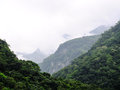 Taiwan tropical mountainscape in taroko national park in Royalty Free Stock Photos