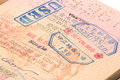 Taiwan Visa Royalty Free Stock Photo