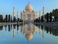 Taj Mahal - Agra - India Royalty Free Stock Photo