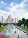 Taj mahal in agra india uttar pradesh Stock Photo