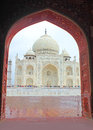 Taj Mahal - Agra Royalty Free Stock Photo