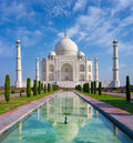 Taj mahal in agra uttar pradesh india Stock Image