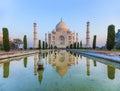 Photo : Taj Mahal in India travel light