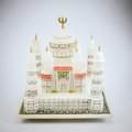 Taj mahal model the souvenir from india Royalty Free Stock Images