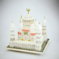 Taj mahal model the souvenir from india Stock Photos