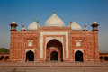 Taj Mahal mosque, India, Agra Royalty Free Stock Photo
