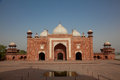 Taj Mahal mosque, India, Agra Stock Photography