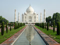 Taj Mahal, One of World Wonders, Agra, India Royalty Free Stock Photo