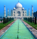 Taj Mahal Palace in India, Indian Temple Tajmahal Royalty Free Stock Photo