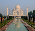 Taj Mahal Reflexion 2 Royalty Free Stock Photo