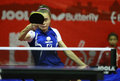 Takahashi bruna bra at the ittf world junior table tennis championships dec dec rabat mar Stock Photo