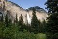 Takakkaw falls yoho national park in canada Stock Photos