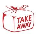 Take away bento box Royalty Free Stock Photo