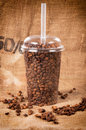 Take away coffee in cant Stock Photos