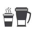 Take Away Coffee Cup and Travel Mug