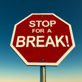 Take break Stock Images