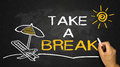 Take a break concept Royalty Free Stock Photo