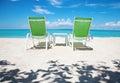 Take a break on paradise beach Royalty Free Stock Photo
