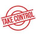 Take Control rubber stamp