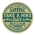 Take A Hike Day, November 17