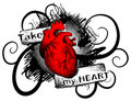 Take my heart Royalty Free Stock Images