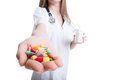 Take your pills concept Royalty Free Stock Photo