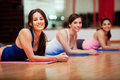 Taking a break at the gym Royalty Free Stock Photo
