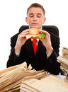 Taking a meal break Royalty Free Stock Photo