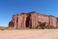 Talampaya red canyon rock formation Royalty Free Stock Photo