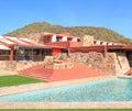 USA, Arizona: Frank Lloyd Wright - Taliesin West Royalty Free Stock Photo
