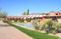 USA, AZ: Frank Lloyd Wright - Taliesin West/Studio Royalty Free Stock Photo