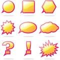 Talk Balloon Royalty Free Stock Images
