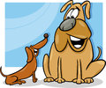 Talking Dogs Cartoon Illustrat...