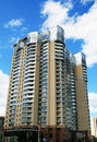 Tall apartment building Royalty Free Stock Photography