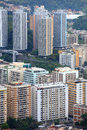 Tall apartments in Rio Stock Photos