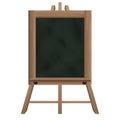 Tall Blackboard On Tripod Obje...