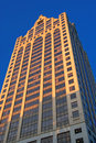 Tall building in downtown Milwaukee Royalty Free Stock Photo