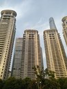 stock image of  Tall buildings in Shanghai