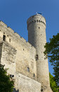 Tall Hermann - a tower of the Toompea Castle on Toompea hill. Tallinn, Estonia Royalty Free Stock Photo