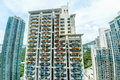 Tall Highrise Housing in Hong Kong Royalty Free Stock Photo