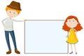 Tall man and short girl Royalty Free Stock Photo