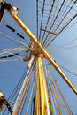 Tall mast Stock Image