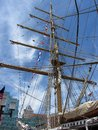 Tall Mast Ship in Baltimore Royalty Free Stock Images